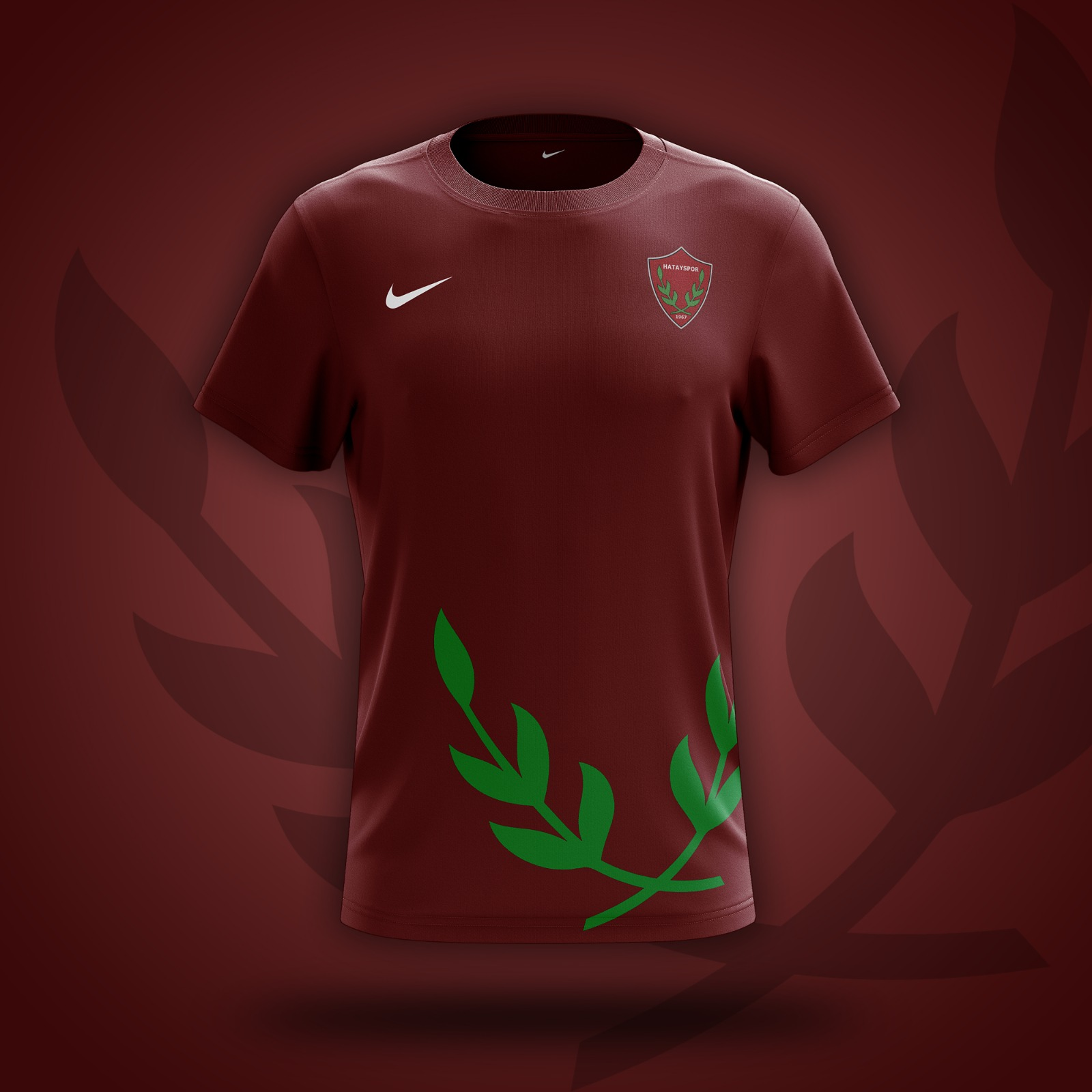 Hatayspor 2021/2022 Sezonu Bordo İç Saha Maç Forması