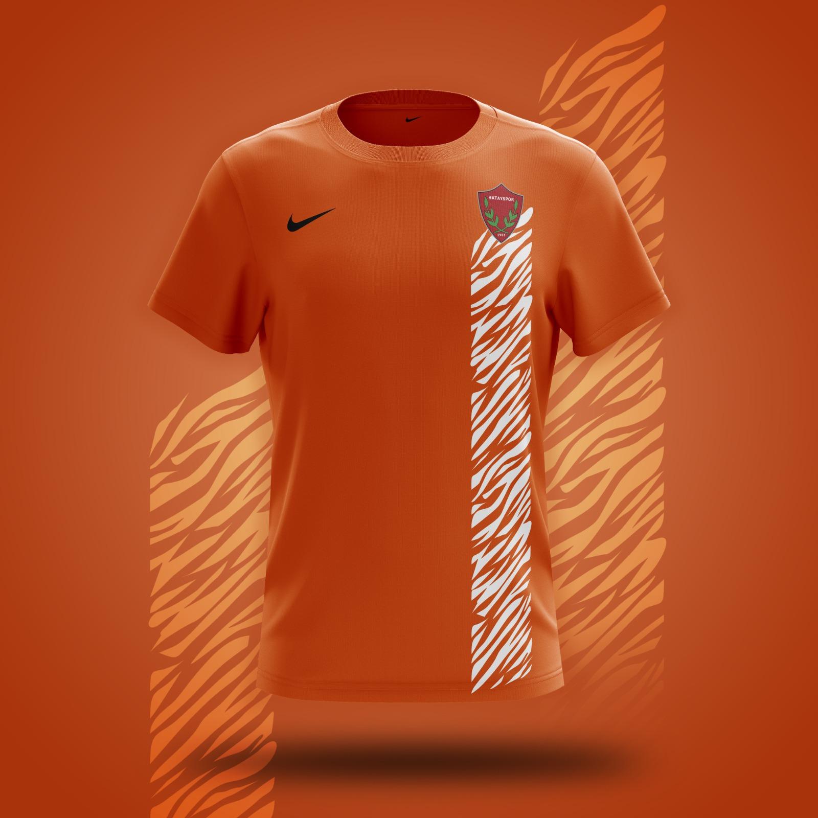 Hatayspor 2021/2022 Sezonu Turuncu Dış Saha Maç Forması