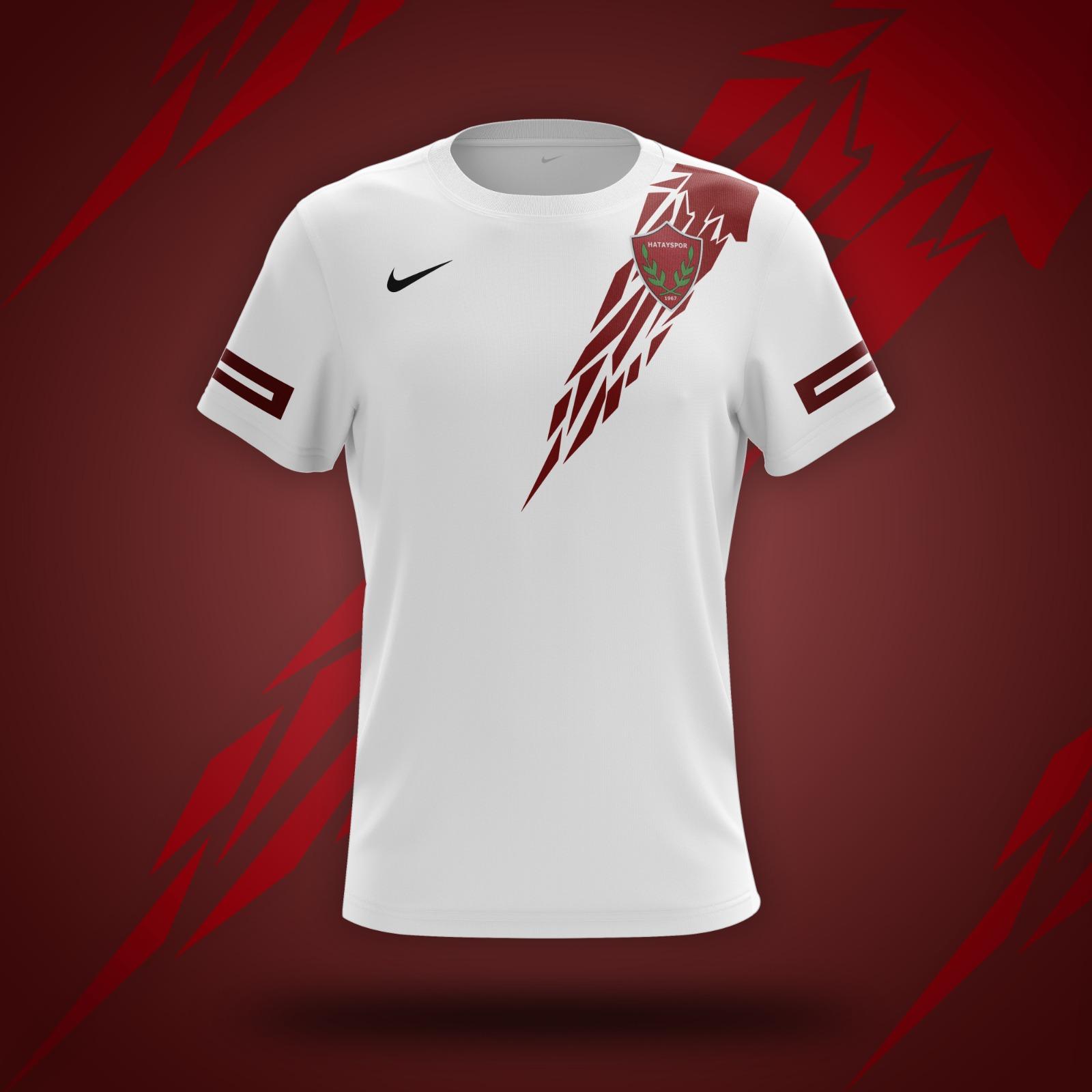 Hatayspor 2021/2022 Sezonu Beyaz İç Saha Maç Forması
